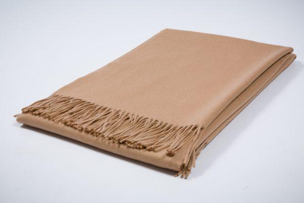 Collection Australia Acabado Sebelino Lisa Camel. Mantas Ezcaray