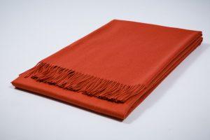 Collection Australia Acabado Sebelino Lisa Orange. Mantas Ezcaray